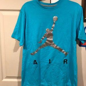 Jordan Men's Tee Shirt. Size Large